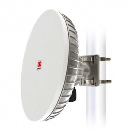 Antena parabólica StationBox XL 5GHz, 260mm, 19dbi, 15º con radomo integrado. MMCX
