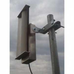 Escudo anti-interferencias diseñada para las antenas Ubiquiti AM-5G-16-120