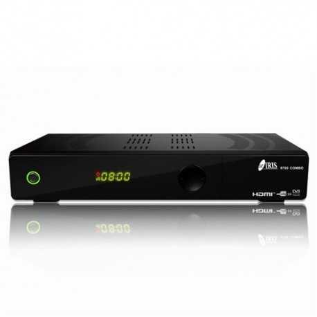 Receptor combo IRIS 9700 COMBO TDT HD DVB-T2 y SAT HD DVB-S2