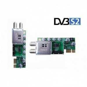 Sintonizador DVB-S2 Plug & Play para utilizar con receptores Gigablue UE, UE Plus, SE, SE Plus y QUAD