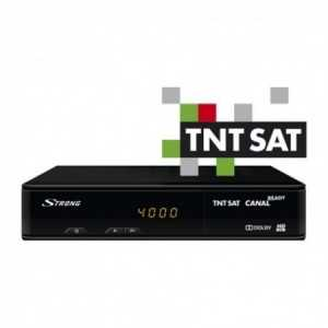 Receptor SAT (S2)+ Tarjeta TNT SAT, FULL HD, H.264, sin Wifi, IR