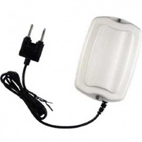 Sensor inalámbrico que detecta el aumento del nivel de agua. Detección de baja batería