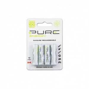 Paquete de 4 pilas RECARGABLES LR 03 AAA. 61960 Pure Energy