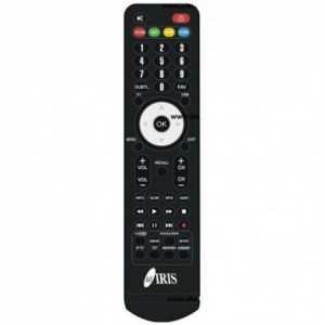 Mando programado Iris para 9900 HD