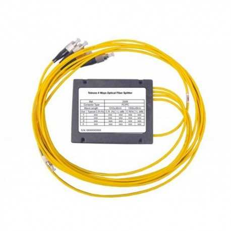 Distribuidor óptico 1 entrada y 4 salidas. Televés 235901