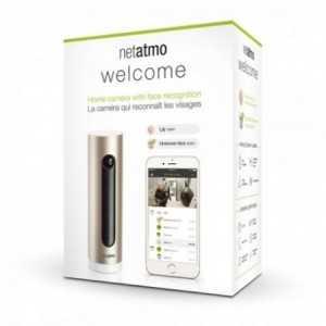 Cámara de vigilancia WIFI con reconocimiento facial y aviso de llegada o intrusión a tus dispositivos. Compatible con Android e