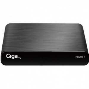 Reproducción multimedia y grabación TV, nueva tecnología DVT-T2, Hdmi, Euroconector, USB 2.0. GIGATV HD250 T