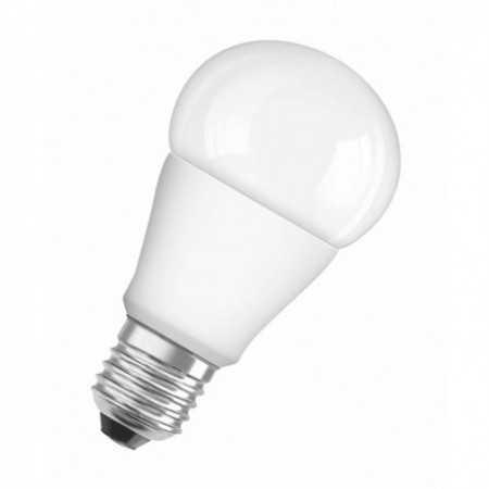 Lámpara Led Profesional, para tensión en línea. Casquillo E27, 9/60W, 4000K, 300º, 220-240V Mate. Osram