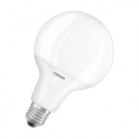 Lámpara Led Profesional, para tensión en línea. Casquillo E27, 9/60W, 2700K, 300º, 220-240V Mate. Osram
