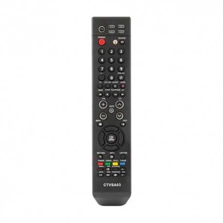 Mando universal para televisores Samsung. Ver modelos compatibles en Descripción