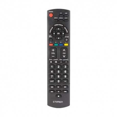 Mando universal para televisores Panasonic. Ver modelos compatibles en Descripción