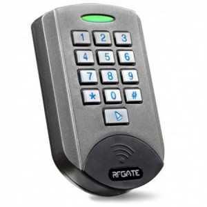 Control de accesos autónomo, con teclado