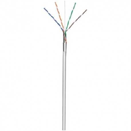 Cable de Datos CAT. 5 FTP CCA, para interior, color gris, 305mts