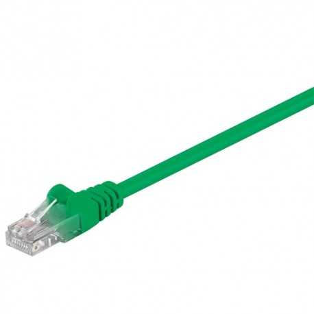 Latiguillo Cat 5e UTP 0,25mts. Verde