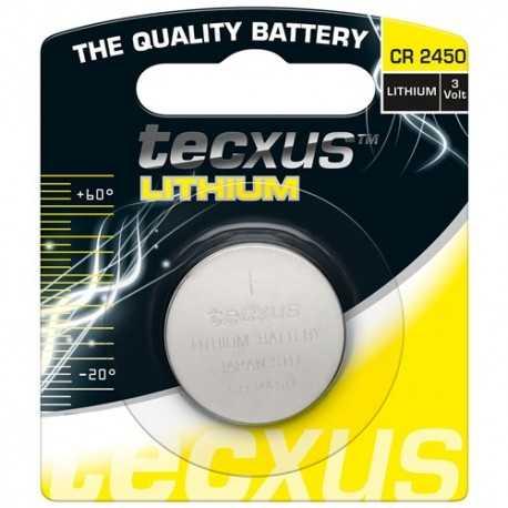 CR2450 Paquete de 1 pila Botón de 3V