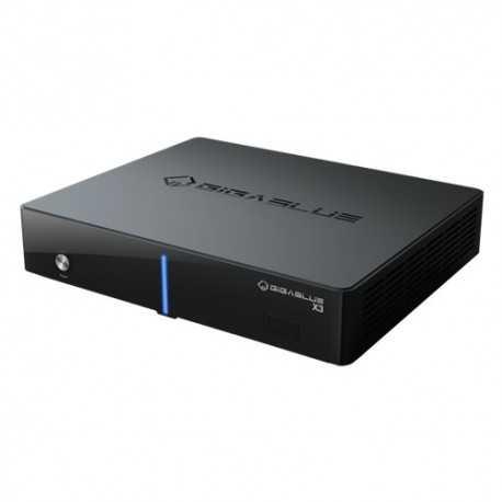 GIGABLUE HD X3. Receptor satélite TWIN /COMBO CPU 750 MHZ. LINUX