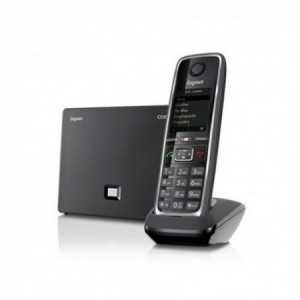 GIGASET C530 IP. Teléfono IP de sobremesa o mural ECO DECT (ahorro hasta 60%). 6 Líneas SIP. Acceso a Facebook.