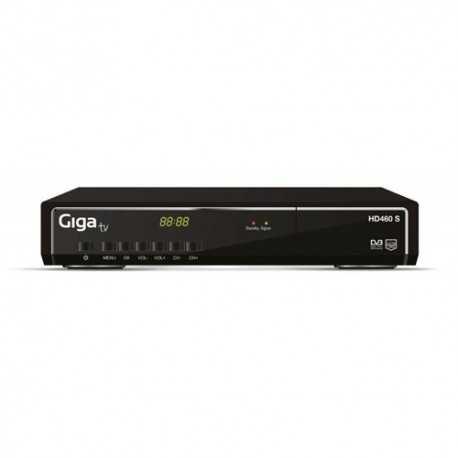 STB sobremesa, Estándar DVB-S2, Sintonizador satélite de alta definición, 2 puertos USB, PVR (Personal Video Recording), Conexi