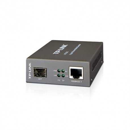 Convierte de SFP a RJ45 1000Base-T (Gb). Necesita módulo SFP