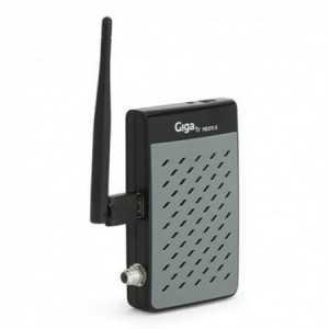 Receptor satélite MINI GigaTV HD 370S. WIFI, Ethernet, EPG, USB x2, RS232 Jack 3.5mm.