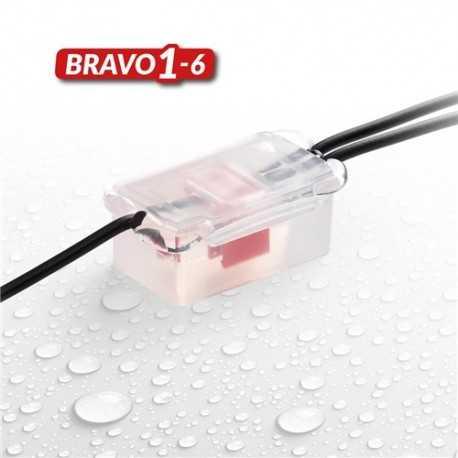 Caja con gel IP68 para estanquidad, 50x29x22mm