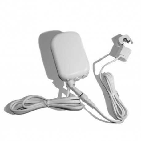 Medidor de consumo eléctrico ZWare con una pinza amperimétrica hasta 100A. Fíbaro. AEOEZW095C1A100