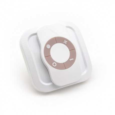 Mando a distancia Z-Ware de 4 botones con soporte para pared, Fíbaro. CRC3100