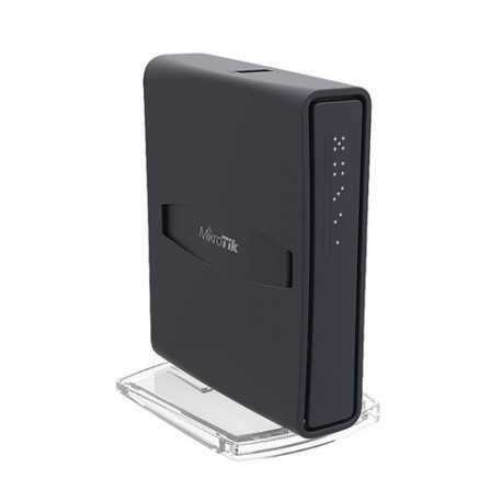 Routerboard AC WIFI 2.4/5Ghz, 23dBm, 650 MHz, 64Mb RAM, x5 10/100, Level 4. FORMATO TORRE