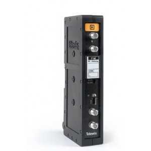 Amplificador monocanal FM. Sistema T03, Ganancia 30dB, 114dBnV