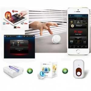 KIT para solución integral de alarma para el hogar.