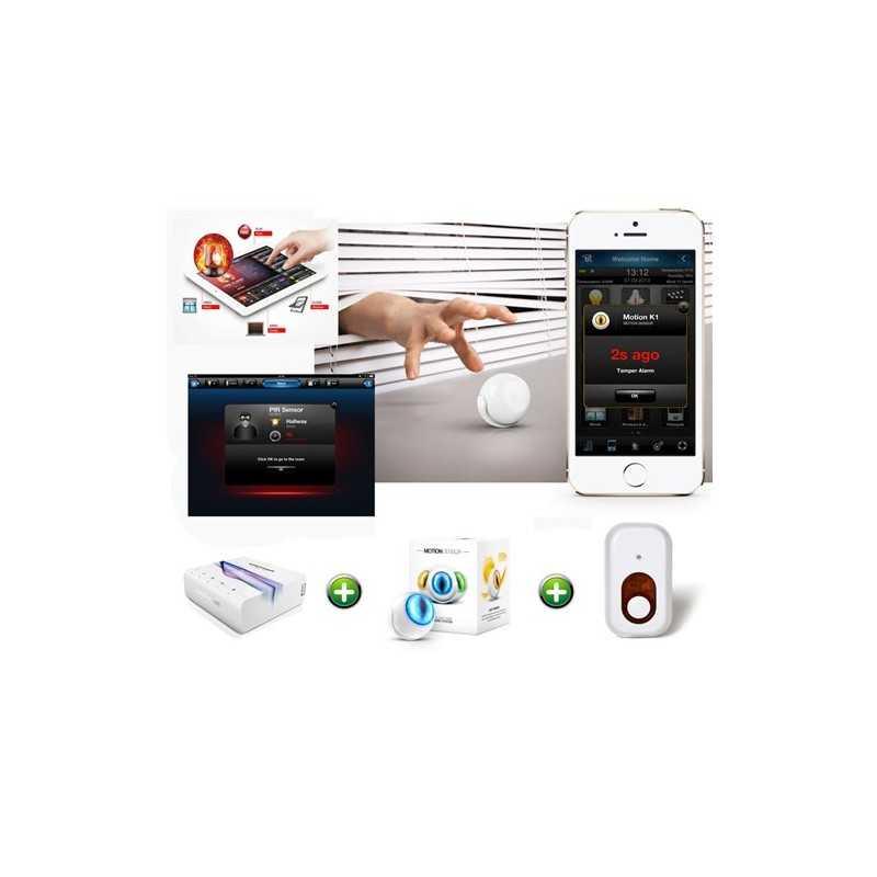 Kit para soluci n integral de alarma para el hogar for Alarmas para el hogar