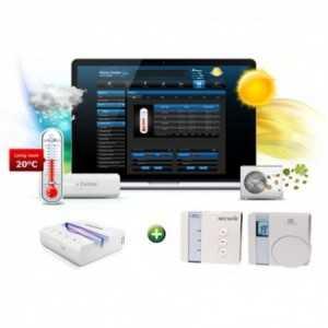 KIT para solución integral de sistema de climatización con Home Center Lite + Termostato Secure 323