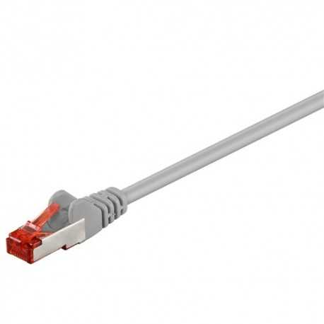 Latiguillo RJ45 Cat. 6 S/FTP rígido de 0,25 mts de color GRIS. WT. 93371
