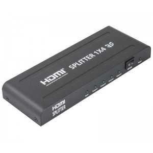 Repartidor HDMI 1entrada x4 salidas. Soporta 1080p, 3D/4K y audio Dolby digital rela. 1,3b y HDPC