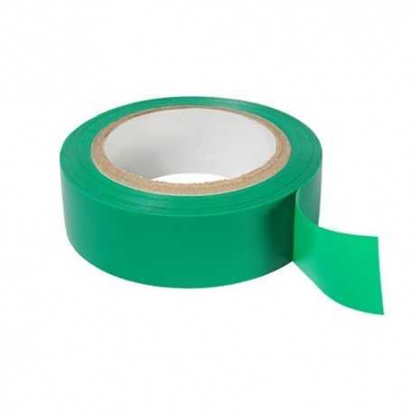 5690 CINTA VERDE. Cinta aislante de alta calidad color verde de 19 mm x 0,15 mm x 20m. Nuñez 12. Plymouth