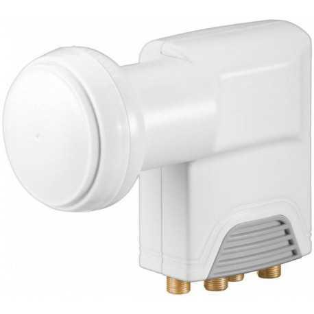 Lnb Quattro 0.1dB, 52-62 dB, típica 57dB