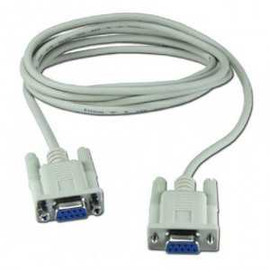 Cable NULL MODEM, DN 9, H-H, 2metros.