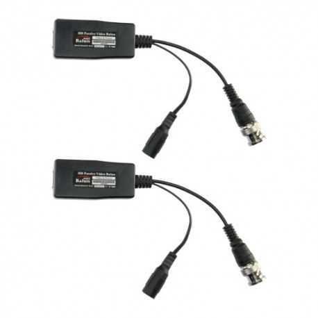 Transceptor pasivo video y alimentación