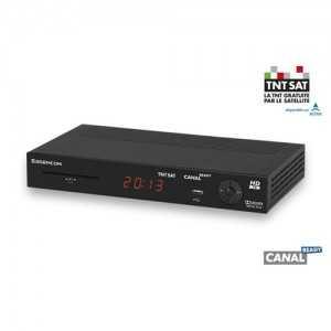 Receptor SAT HD + Tarjeta TNT SAT para Astra 19,2 grados (Tarjeta 4 años)