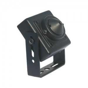 Minicámara pinhole analógica 600 líneas, lente 3.7mm, 0.3 Lux