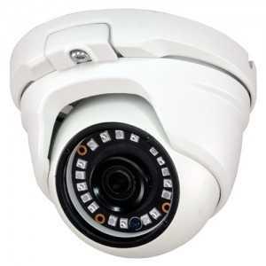 Cámara domo 4 en 1, 720p, 3.6mm, IR 20mts. IP66, blanca