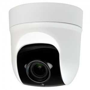 Cámara domo PTZ 4 en 1, 1080p, 2.8-12mm motorizada, IR 35mts. IP66, blanca
