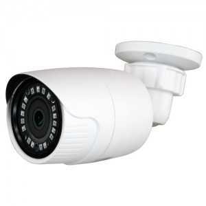 Cámara bullet 4 en 1, 720p, 2.8mm, IR 20mts. IP66, blanca