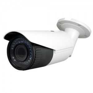Cámara IP 4MPx Dia y Noche CMOS , H.264+. Resolución de 2688x1520 a 30 fps. Lente motorizado 2.8-12mm