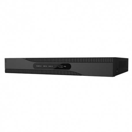 NVR IP hasta 16 canales POE, 4K, 8Mpx, 160Mbps, salida HDMI. SAFIRE