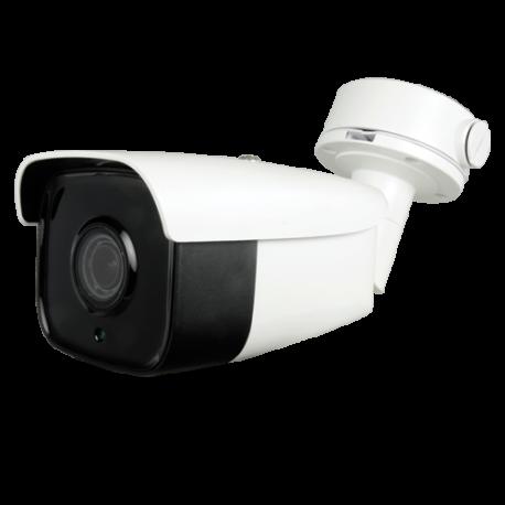 Cámara IP 4MPx Dia y Noche CMOS , con dual stream H264/MJPEG. Resolución de 2688x1520 a 30 fps. Lente motorizado 2.8-12mm. SF-I