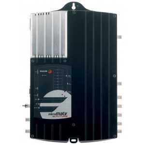 """Central programable con FI (Satélite) y 10 filtros. 7e/2s """"F"""":,-42--45dB, 117-123 dBnV."""