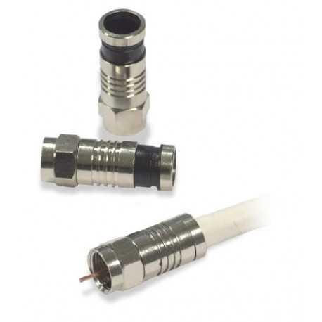 """Conector """"""""F"""""""" compresión, 6.5 mm. 70123"""