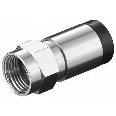 Conector F 7mm para Compresión. 12269