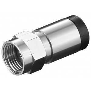 Conector F compresión 7mm
